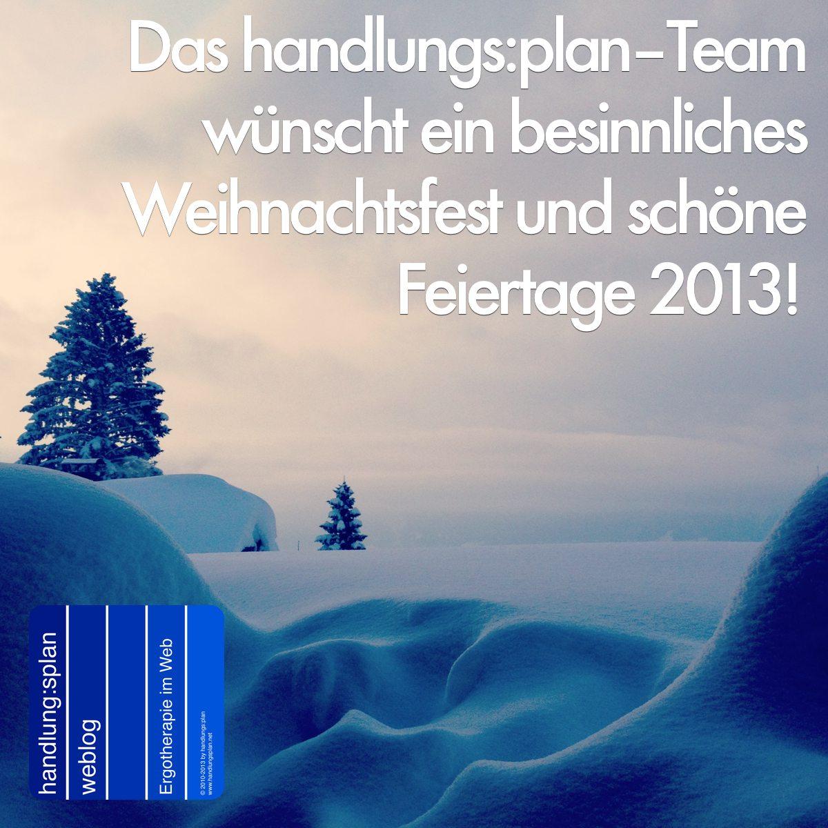 Weihnachtswünsche 2013