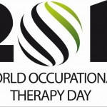 Offizielles Logo des Welt Ergotherapie-Tages 2011 der World Federation of Occupational Therapists