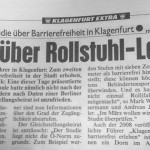 Faksimile eines Beitrags in der Kronen Zeitung vom 09.02.2012