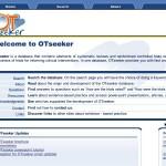 Screenshot der Website OTSeeker