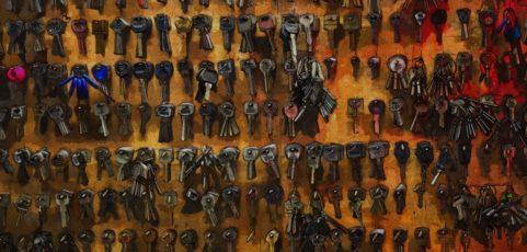 Ritsch-Klick-Ratsch: Der Schlüsselbund als ständiger Begleiter des Ergotherapeuten auf der psychiatrischen Akutstation